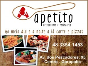 APETITO - Restaurante e Pizzaria