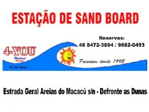 4-YOU Estação de Sand Board - Restaurante e Lanchonete